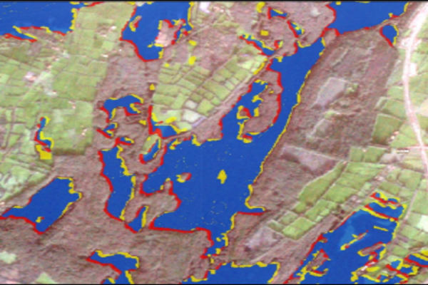 Water Surfaces with Sentinel-1