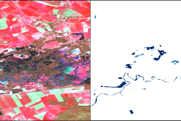 Water Surfaces with Sentinel-2